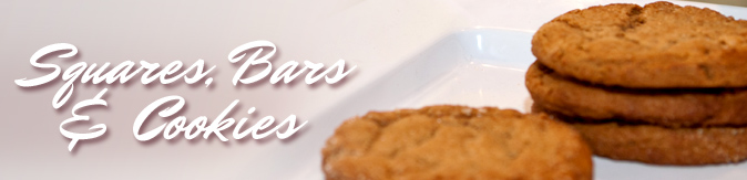 Squares, Bars & Cookies